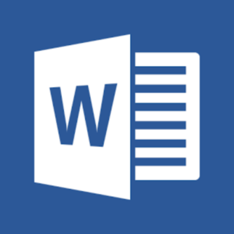 The Microsoft Word Logo